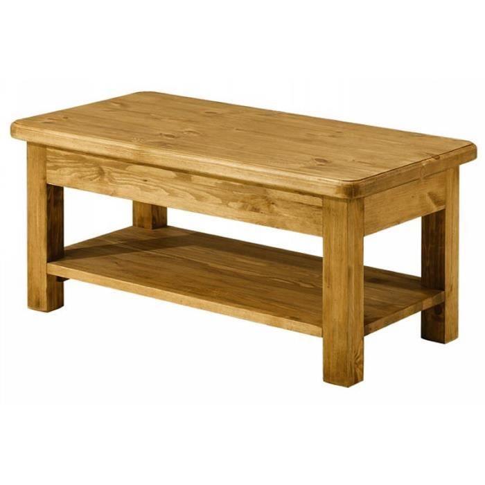Table Basse En Pin.Impressionnant Table Basse En Pin Decoration Francaise