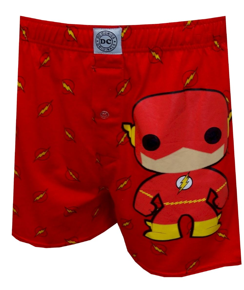 1030c6b95c Funko DC Comics The Flash Bobblehead Boxer Shorts, $13.50 up to XXL A super  fun twist on a classic favorite! These boxer shorts for men feature the  Funko ...