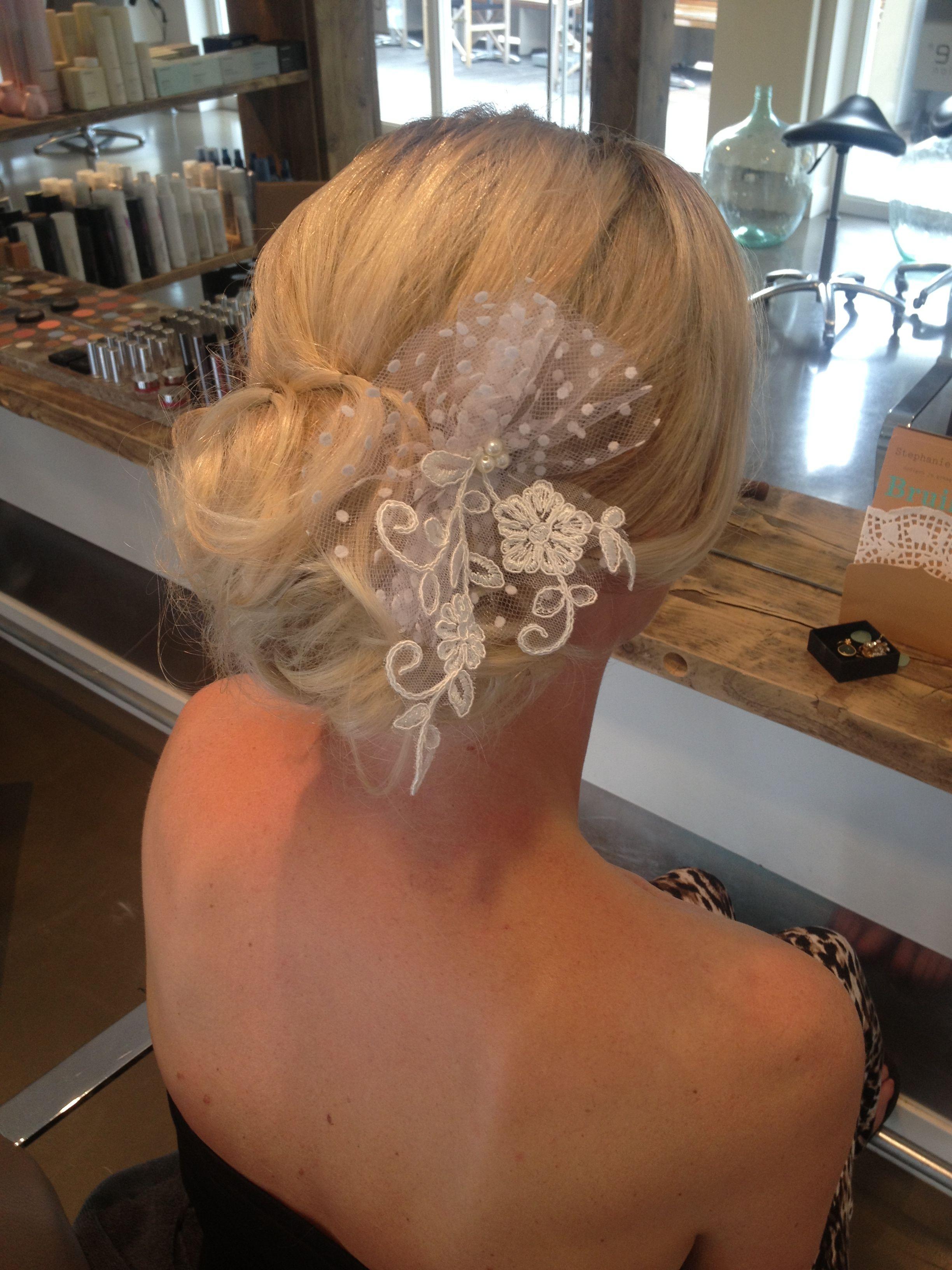 Wedding hair by Chef de Cabine in Leiden, the Netherlands