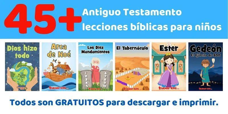 Lecciones Sobre Historias Bíblicas Para Imprimir En Pdf Cada Lec Lecciones Bíblicas Para Niños Lecciones Para Niños Cristianos Juegos De La Escuela Dominical
