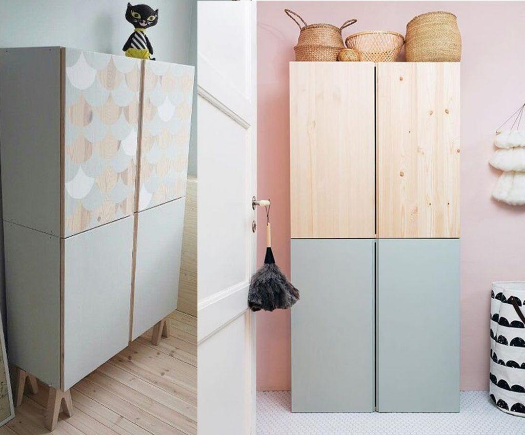Allebei De Ikea Ivar Kast Gremlins In 2019 Ikea Closet