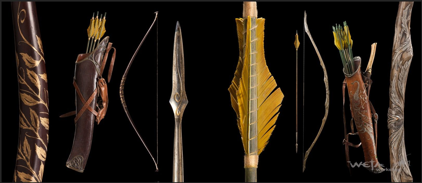 Legolas Weapons Weta The Hobbit Fantasy Weapons