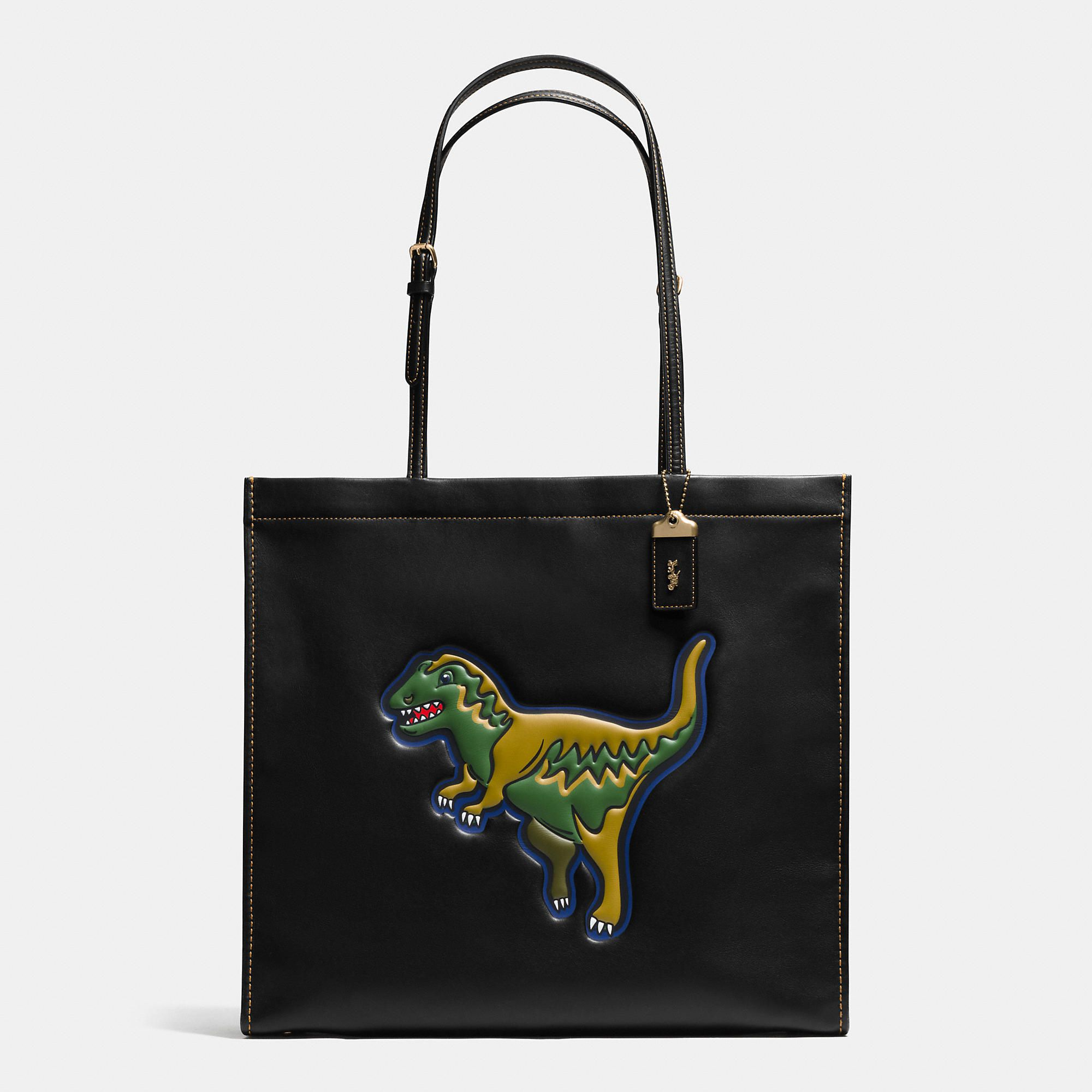 ca6cca98c Rexy Skinny 34 Tote in Glovetanned Leather   Lust list in 2019   Bags, Coach  holidays, Designer totes