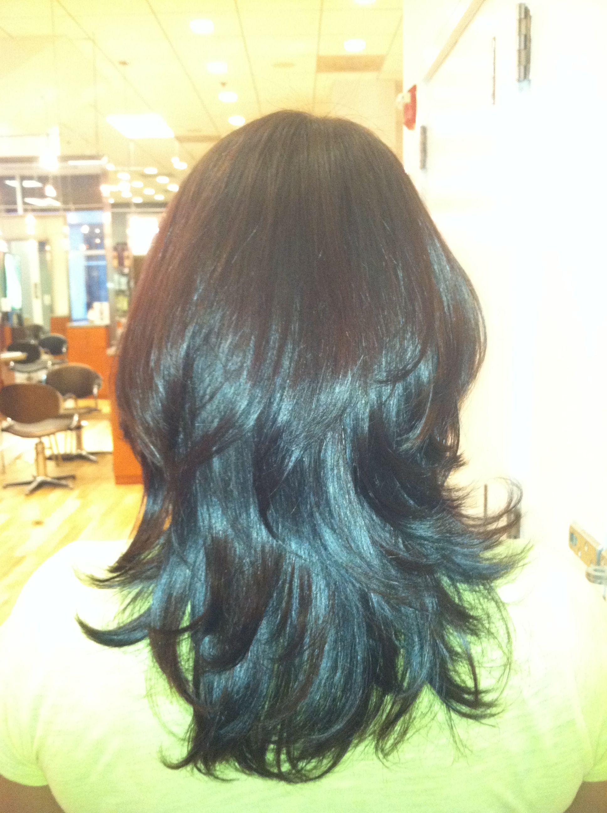 Haircut Style By Terri At Modern Salon Spa Birkdale Village Modern Salon Spa Salon Salons