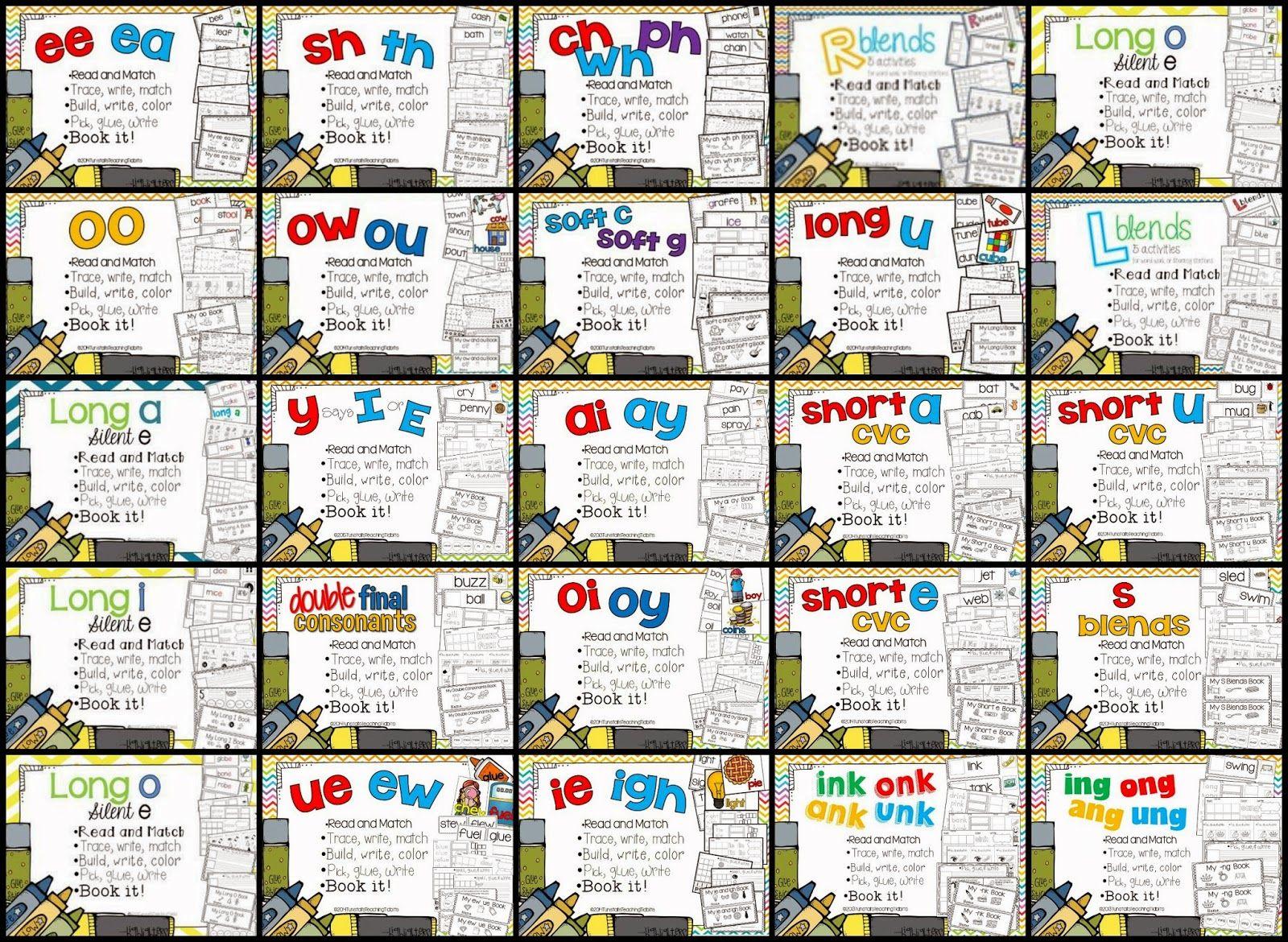 Spelling Phonics Weekly Phonics Spelling Patterns Word
