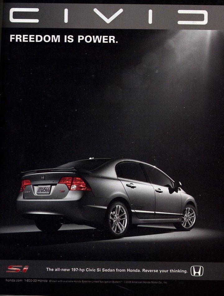 Honda Civic Ad Honda Civic Honda Civic