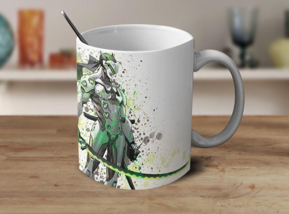 Genji Overwatch Mug Overwatch Coffee Mug Color Changing Mug Magic