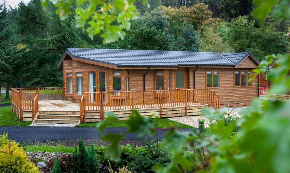 Our lodges are quality built and are set in picturesque woodland in Perthshire.