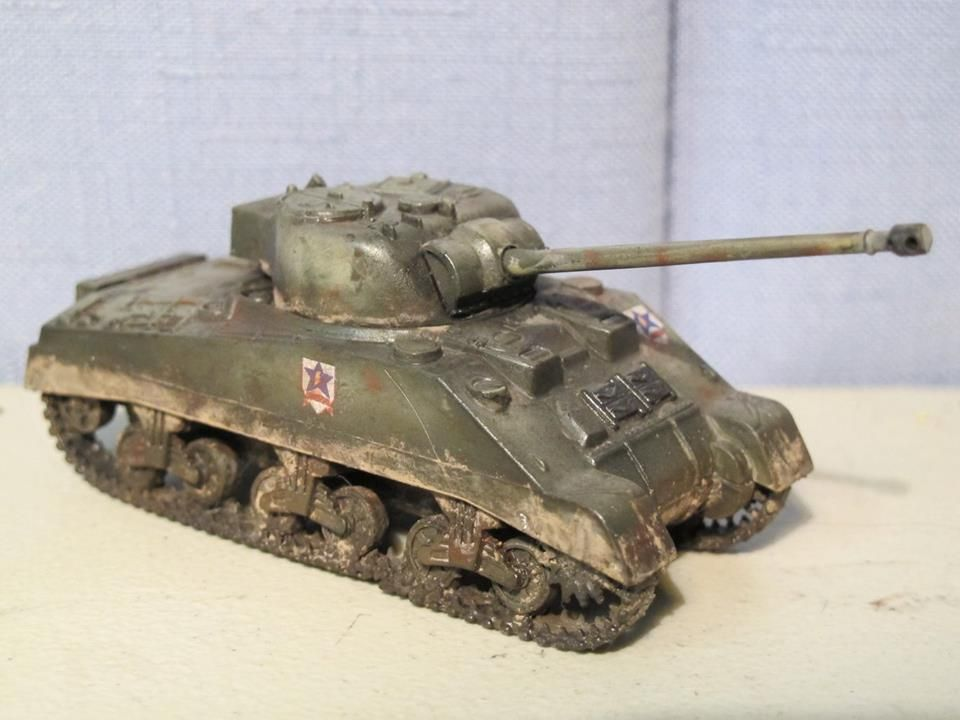 Matchbox 1:76 Sherman Firefly (ver  Girls und Panzer) by