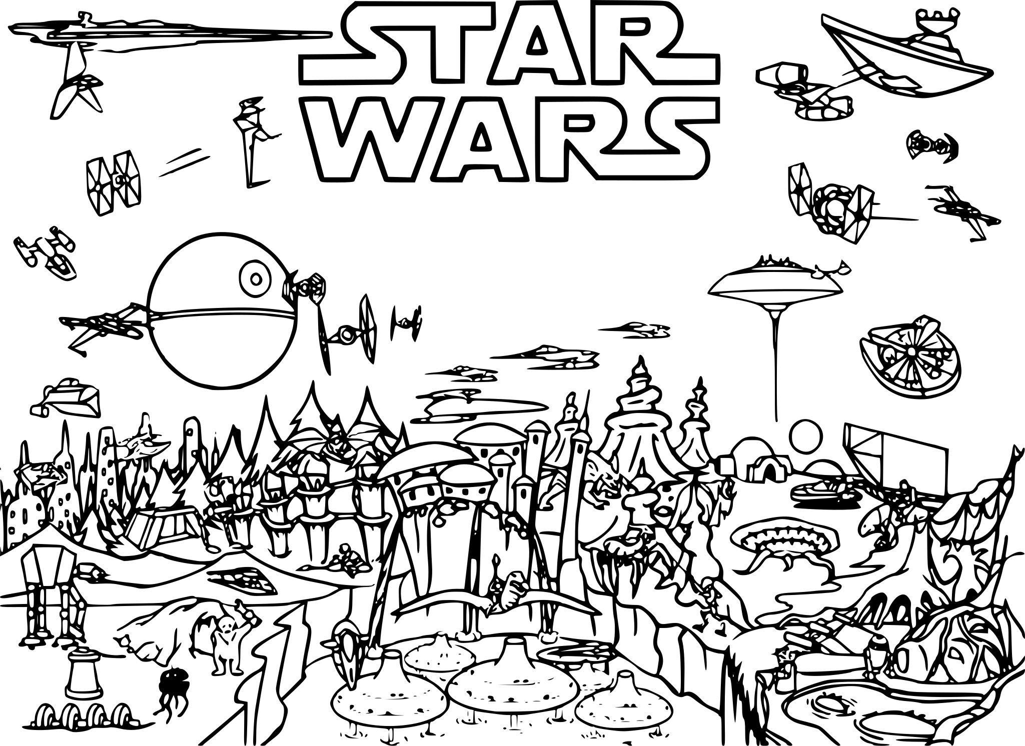 nice 19 Dessin De Star Wars A Imprimer Gratuit en 2020 | Coloriage star wars, Coloriage, Pages ...