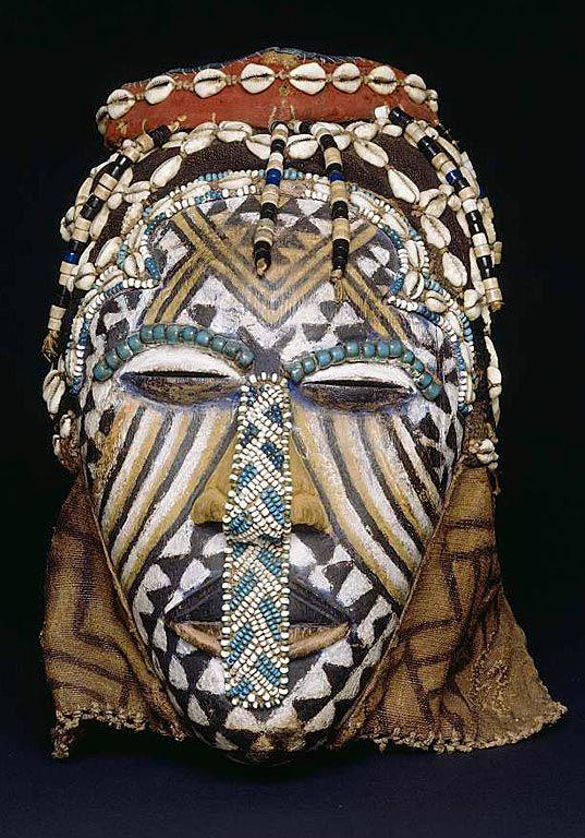 Mask (Ngady Amwaash) DRCongo