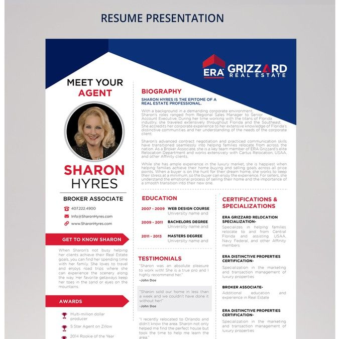 Design a stunning Resume Profile piece to WOW clients by pallabip - resume profile