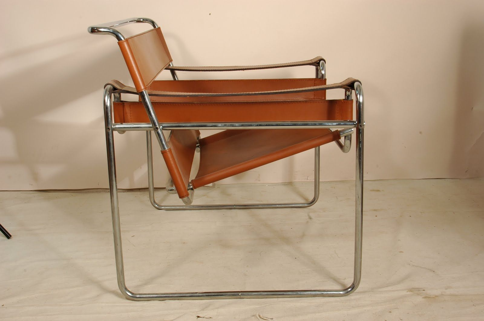 Wassily Chair Brown Leather Posture Stool Ebay Carmel Colored 70 S Version Of Alas You I Can T Have This Beauty Because It Has Sold If See One Around Please Let Me Know