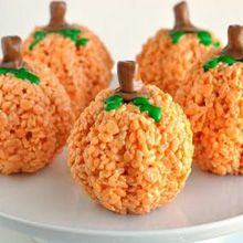 Pumpkin Rice Krispies