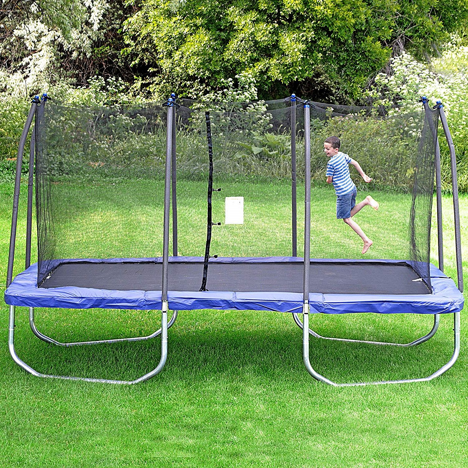 Trampolines Are Best Toys for Backyard