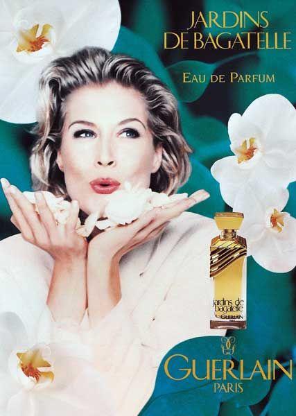 Publicite Du Parfum Jardins De Bagatelle Atriz Brasileira