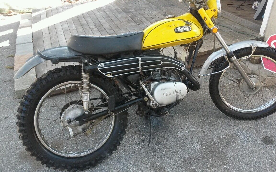 1970 yamaha at1 125 enduro ebay 1970 yamaha at1b. Black Bedroom Furniture Sets. Home Design Ideas