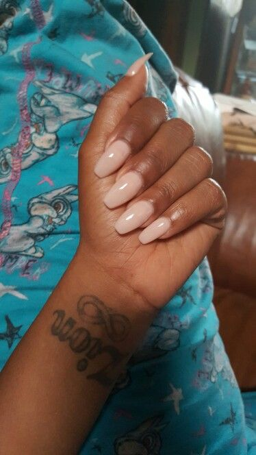 Pinkish Nude Nails & Thumper