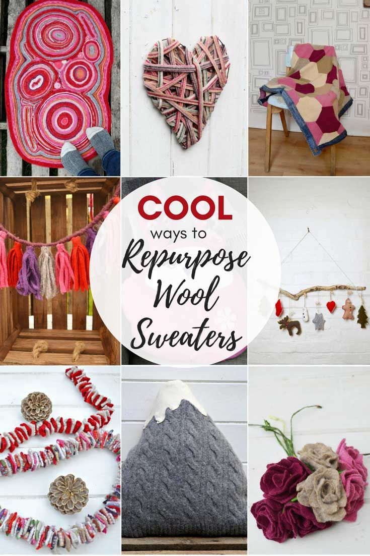 Sweaters | Wool sweaters, Repurposed and Craft