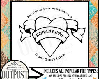 Image Result For Romans 8 38 Printable Romans 8 Romans Gods Love