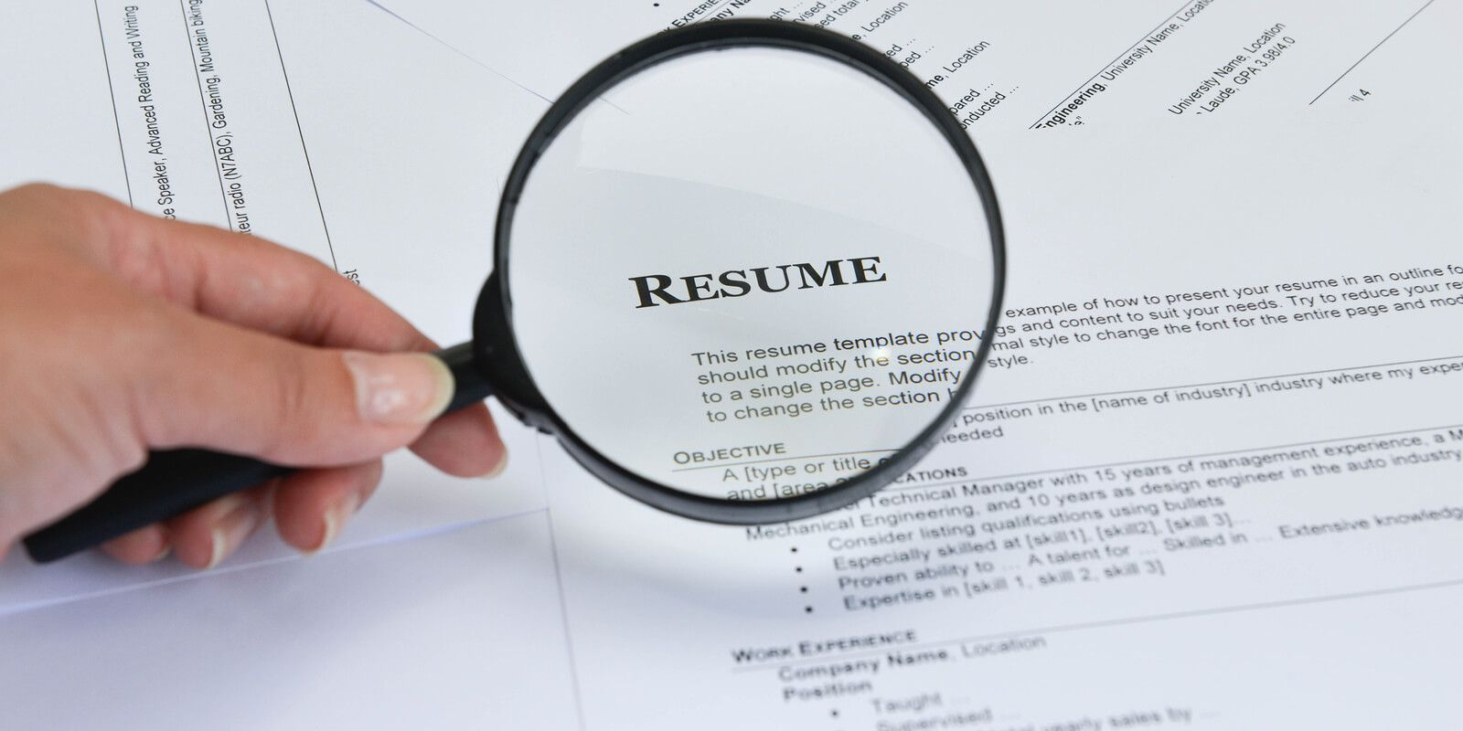 Figuring out how to make your resume less boring can be a