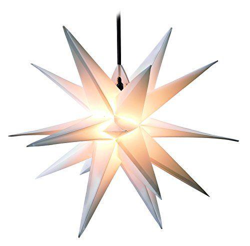 Faltstern Papier Leuchtstern Deko Stern Adventsstern Weihnachtsstern Handmade 16