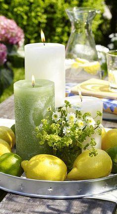 Photo of DIY: decoration ideas with fresh lemon