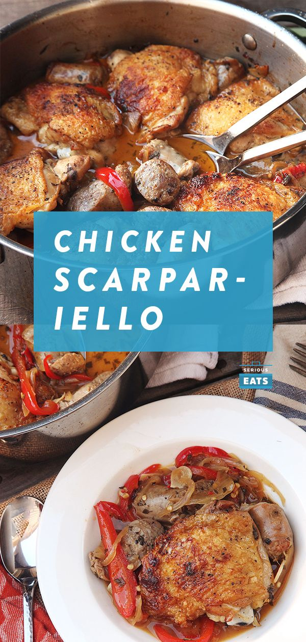 How to Make Chicken Scarpariello (Italian Sweet-and-Sour Chicken With Sausage)