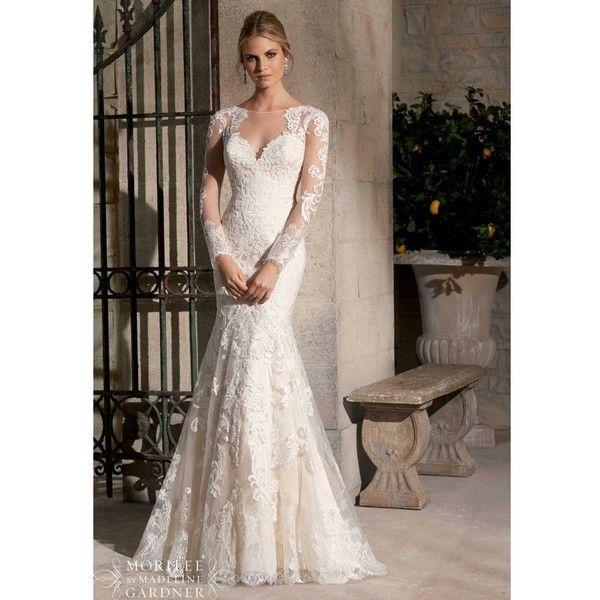 Long Sleeve Short Wedding Dresses Mori Lee