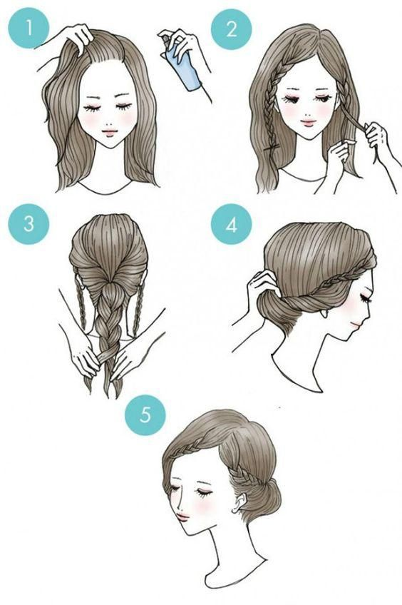 10 coiffures sans prise de tête Magali Straszak