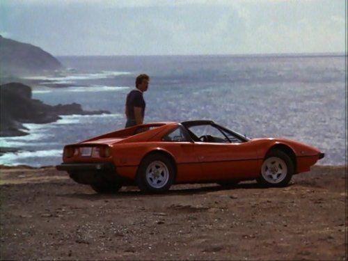 the man & his car too! | Magnum PI's Ferrari 308 GTS | @www ...