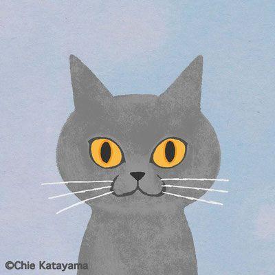 Bicke ビッケ 別活動名による猫のイラスト おしゃれなポートレートからコミックタッチまで幅広い作品のページです 猫のイラスト ネコ イラスト おしゃれ ネコ イラスト