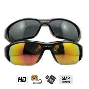 Caméra cachée couleur avec DVR dans une Lunettes de soleil HD - 5 mégapixels - Jusqu'à 32 Go
