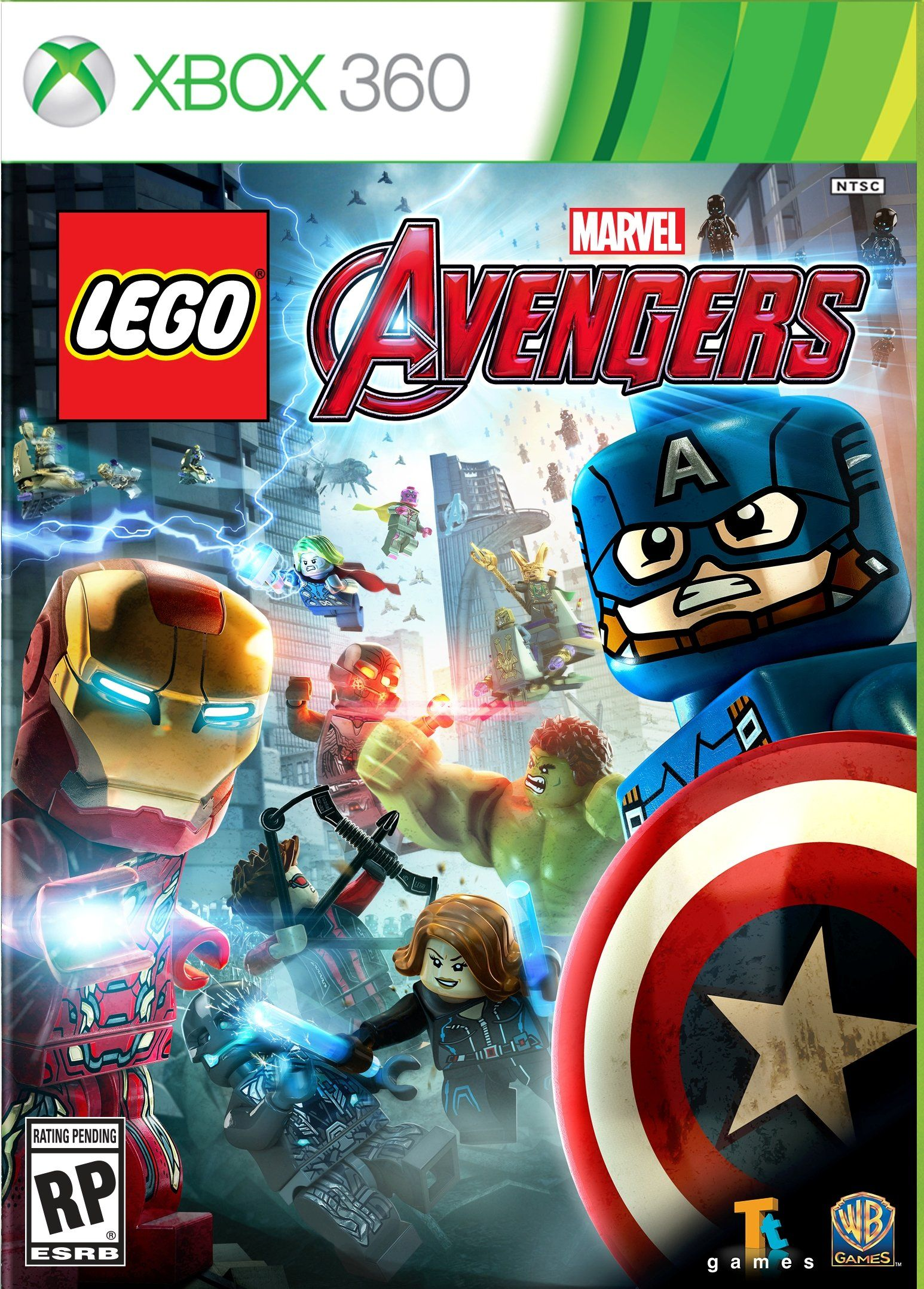Amazon Com Lego Marvel S Avengers Xbox 360 Video Games