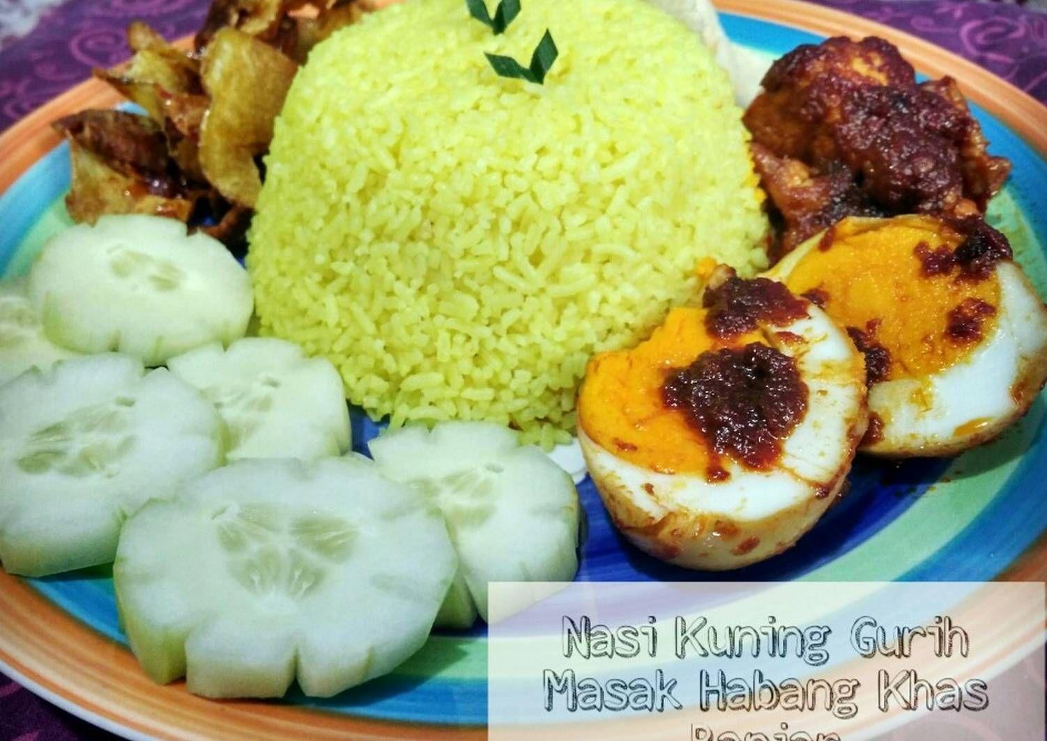 Buras Banjar With Bumbu Masak Habang Best In The World Kalimantan Selatan Indonesia Resep Makanan Makanan Resep
