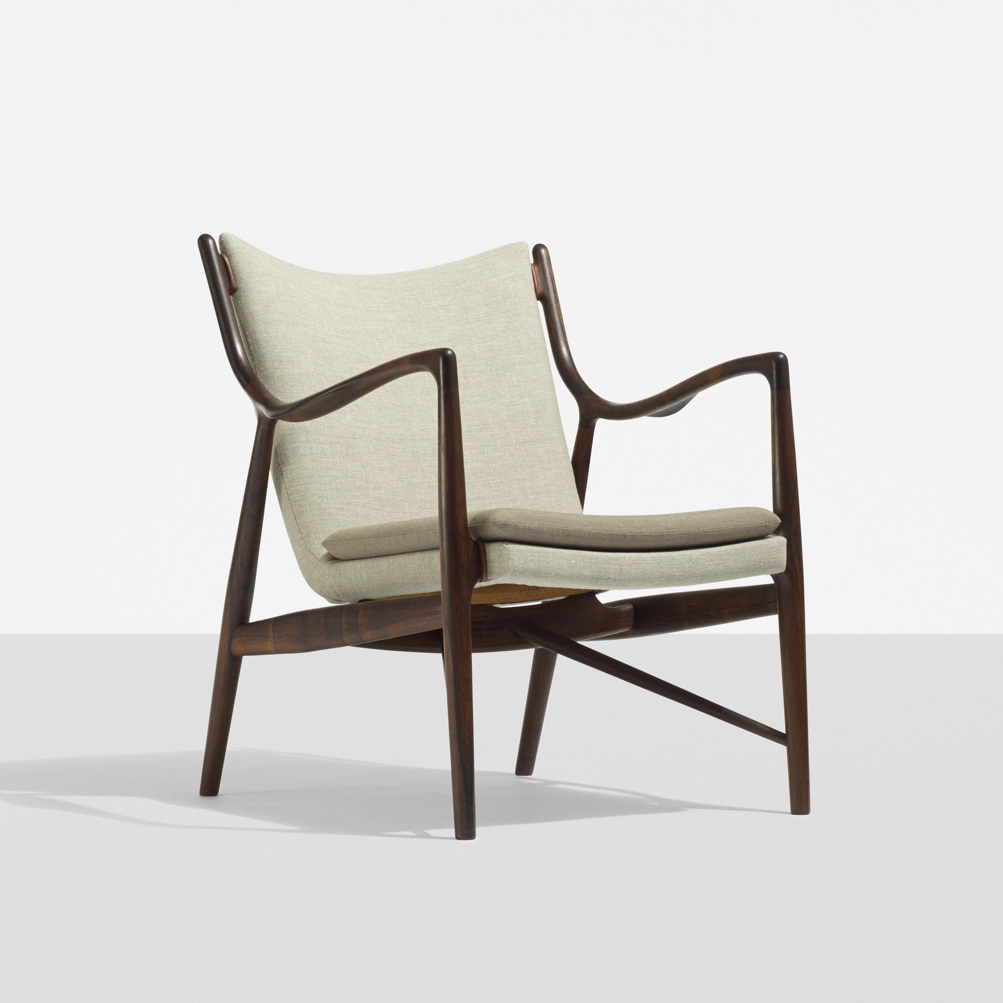 Modern light blue leather swivel lounge chair dove midcentury - 120 Finn Juhl Rare Lounge Chair Model Nv 45 Scandinavian