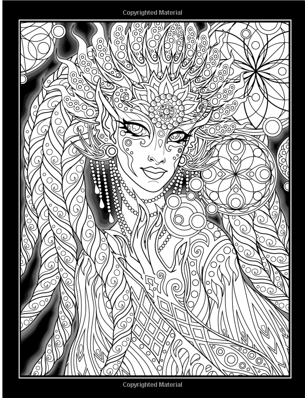 Amazon The Lumina Chronicles A Fantasy Coloring Experience Volume 1