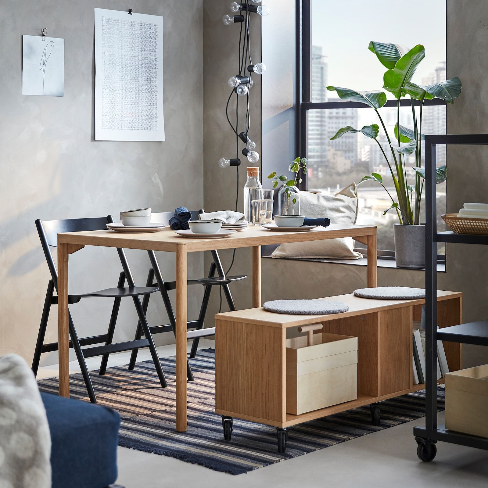 Ravaror Dining Table Oak Veneer 511 8x303 4 Ikea In 2021 Ikea Small Dining Table Oak Dining Table Ikea [ 1600 x 1600 Pixel ]