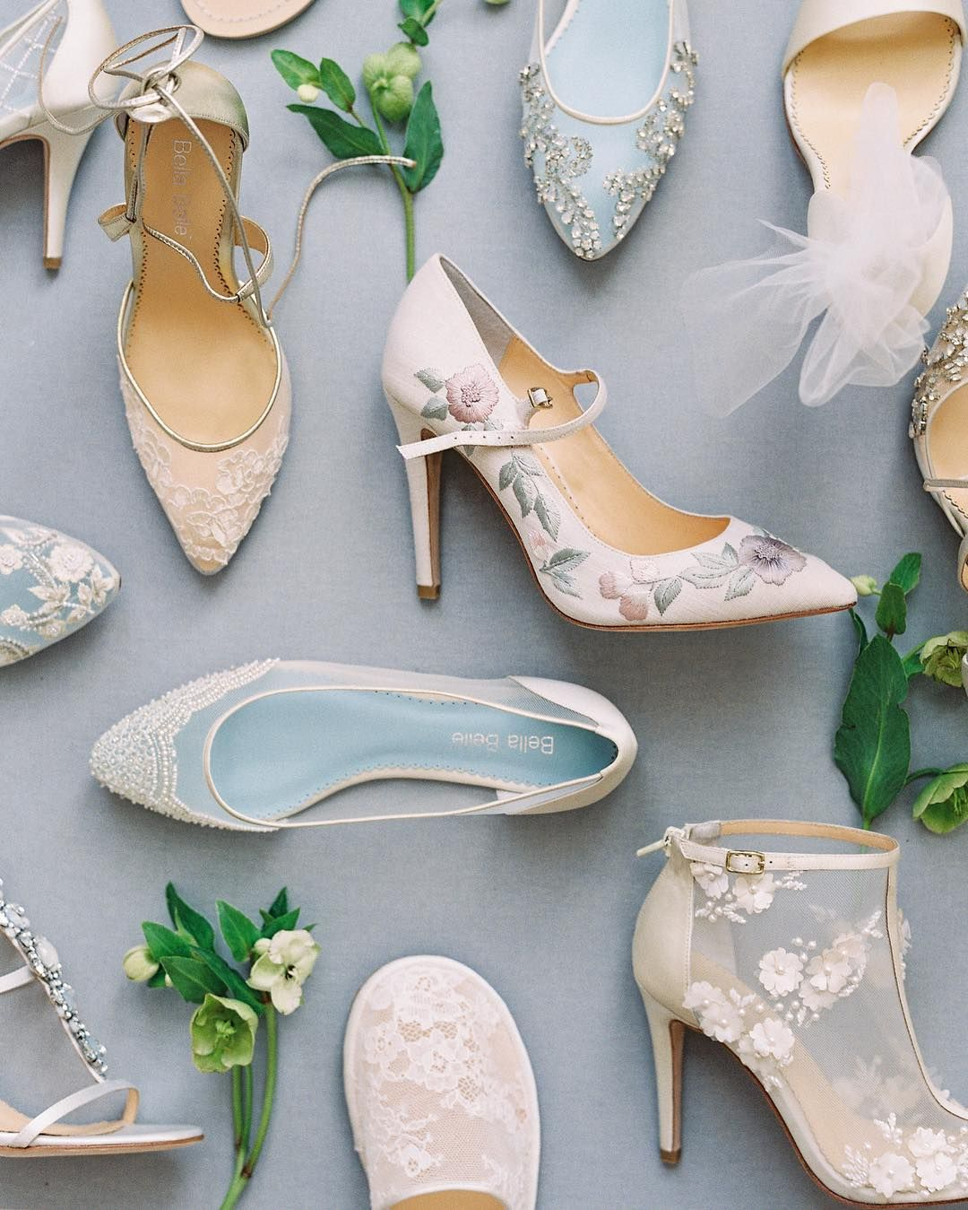 "Bella Belle Shoes (@bellabelleshoes) på Instagram: ""Although we are not physically at #nybridalmarket right now, we have been following closely and…"""