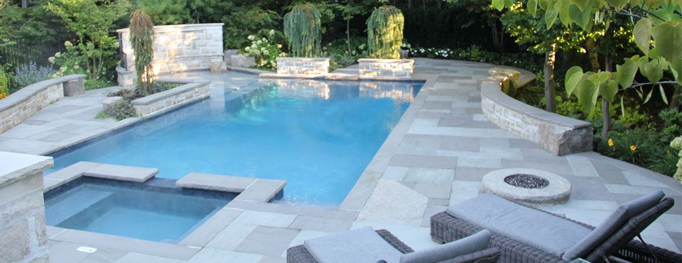 Banas Grey And Banas Slate Grey Mix Beautiful Backyard
