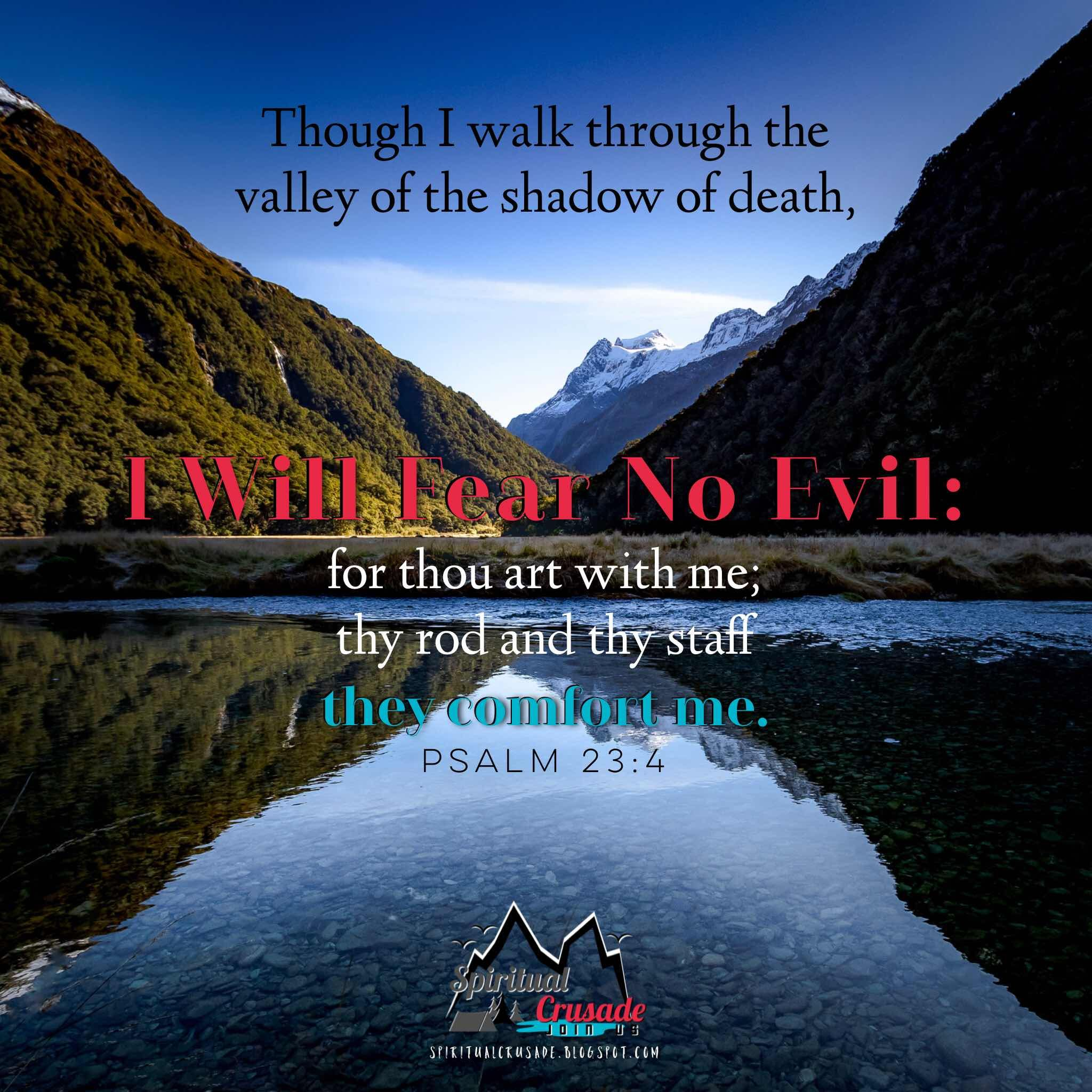 I Will Fear No Evil Uplifting Thoughts Lds Quotes Wise Quotes