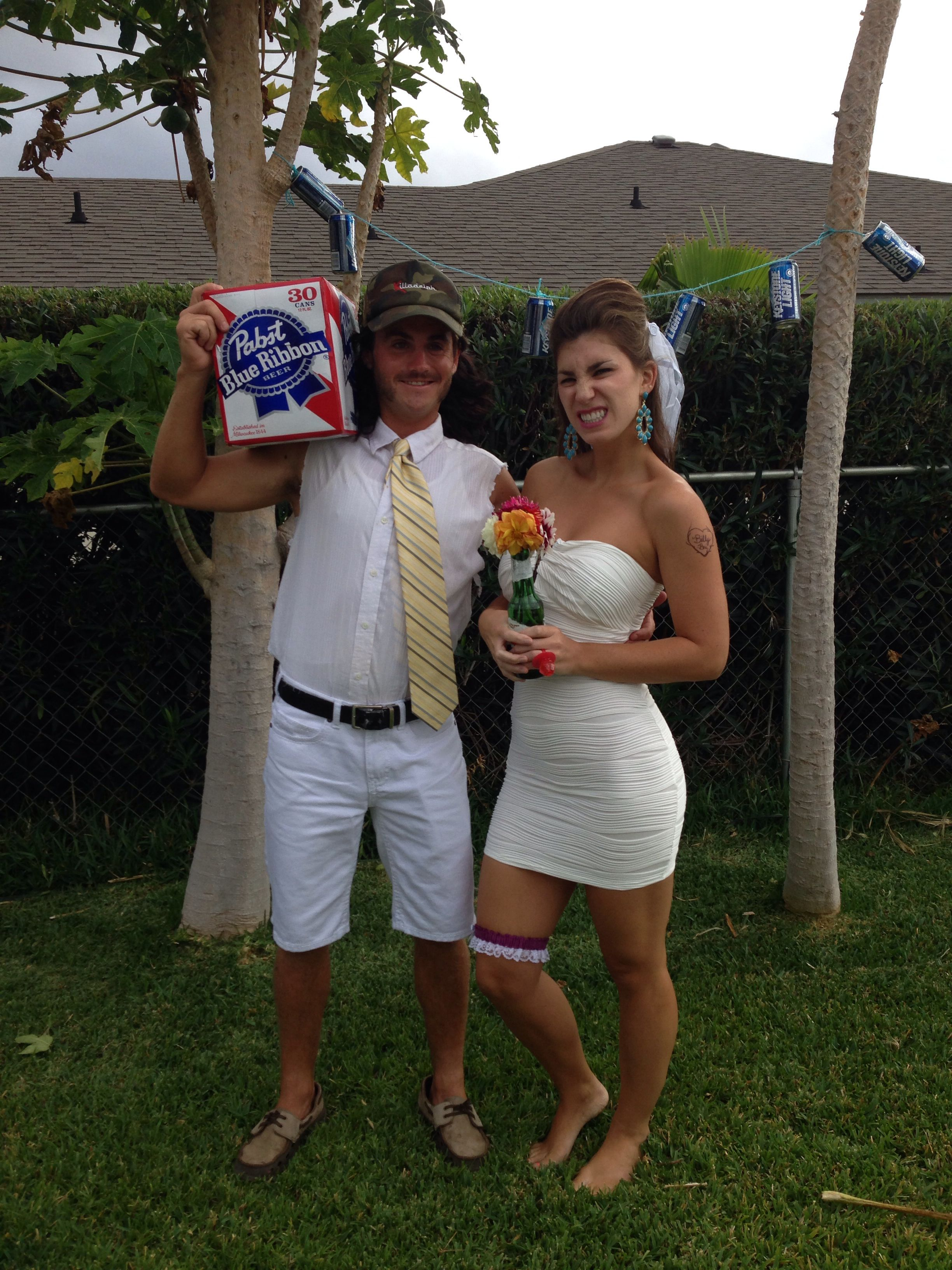 White Trash Wedding.Finally Figured Out What We Are Going To Be White Trash