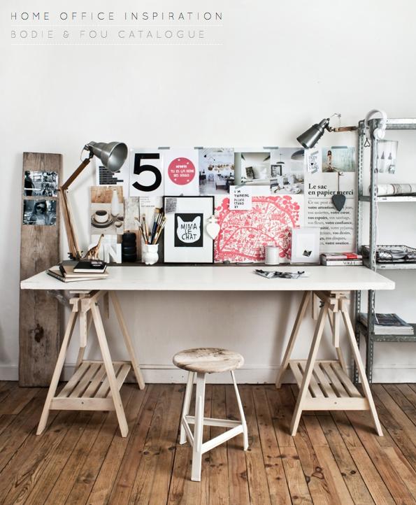 Artistic & Industrial Home Office – Bright.Bazaar