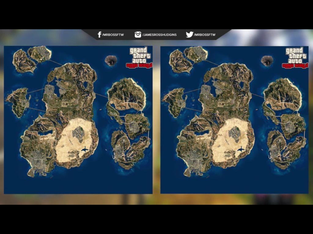 GTA 6 Conceitual Map 2 | grand theft auto | Pop culture art, Grand