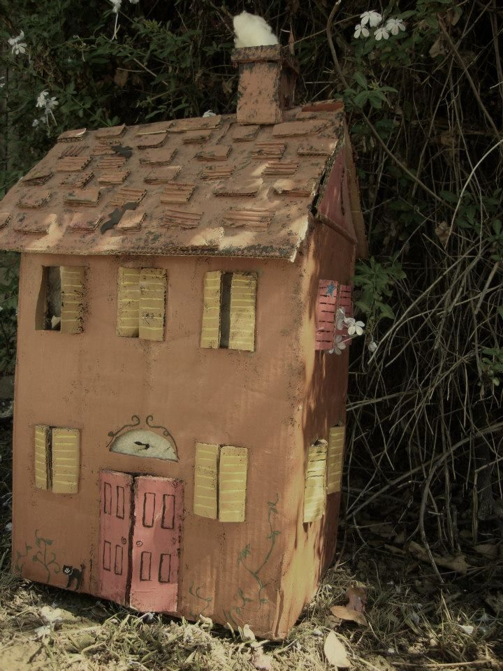 26++ Haunted house made out of cardboard inspirations