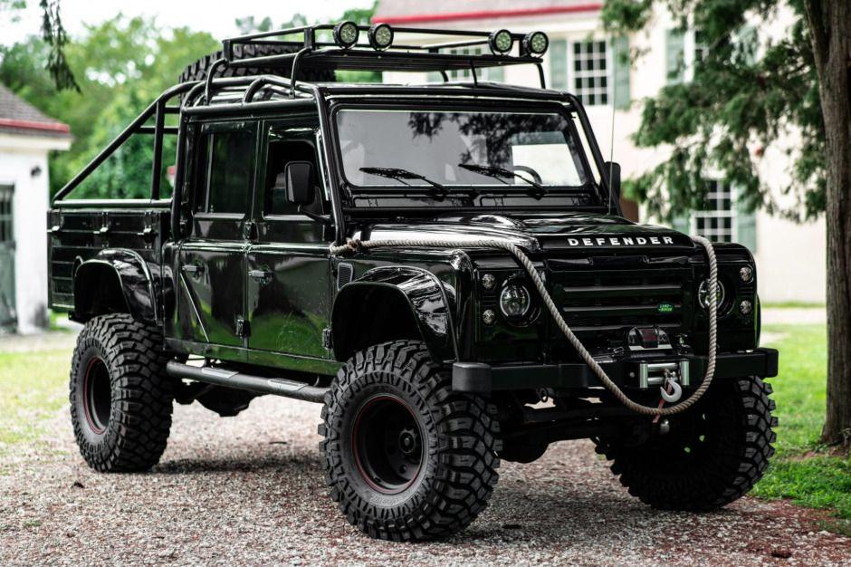 No Reserve 1993 Land Rover Defender 130 in 2020 Land