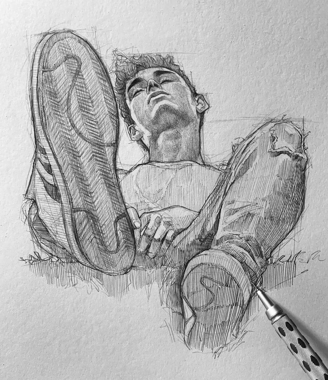 Coup de coeur : les superbes crayonnés d'Efrain Malo