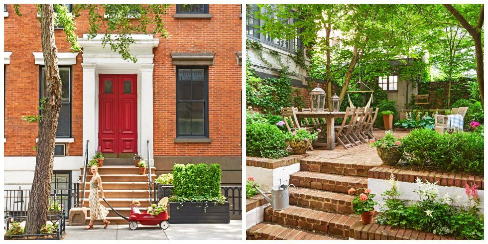 This Country Chic Townhouse Has One of the Most Gorgeous Gardens We've Ever Seen -   23 new country decor