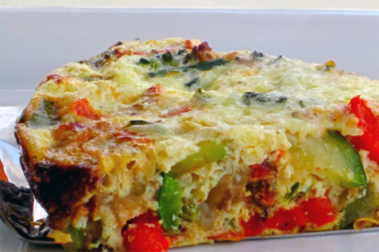 Our delicious vegetable quiche is packed with vitamins, nutrients, and flavor. In addition to being tasty and nutritious, our crustless vegetable quiche is easy to make.