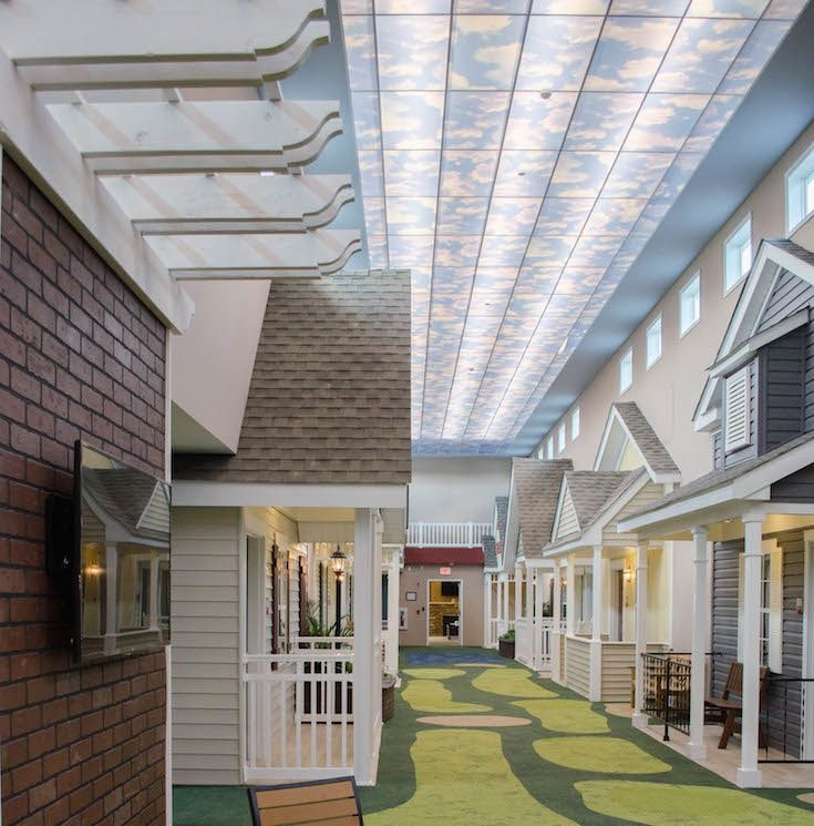 senior home design. One man turned nursing home design on its head when he created this  stunning facility Bald hairstyles Big and Senior living